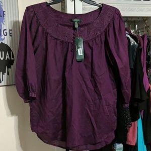 Lauren Ralph Lauren Top Size XL